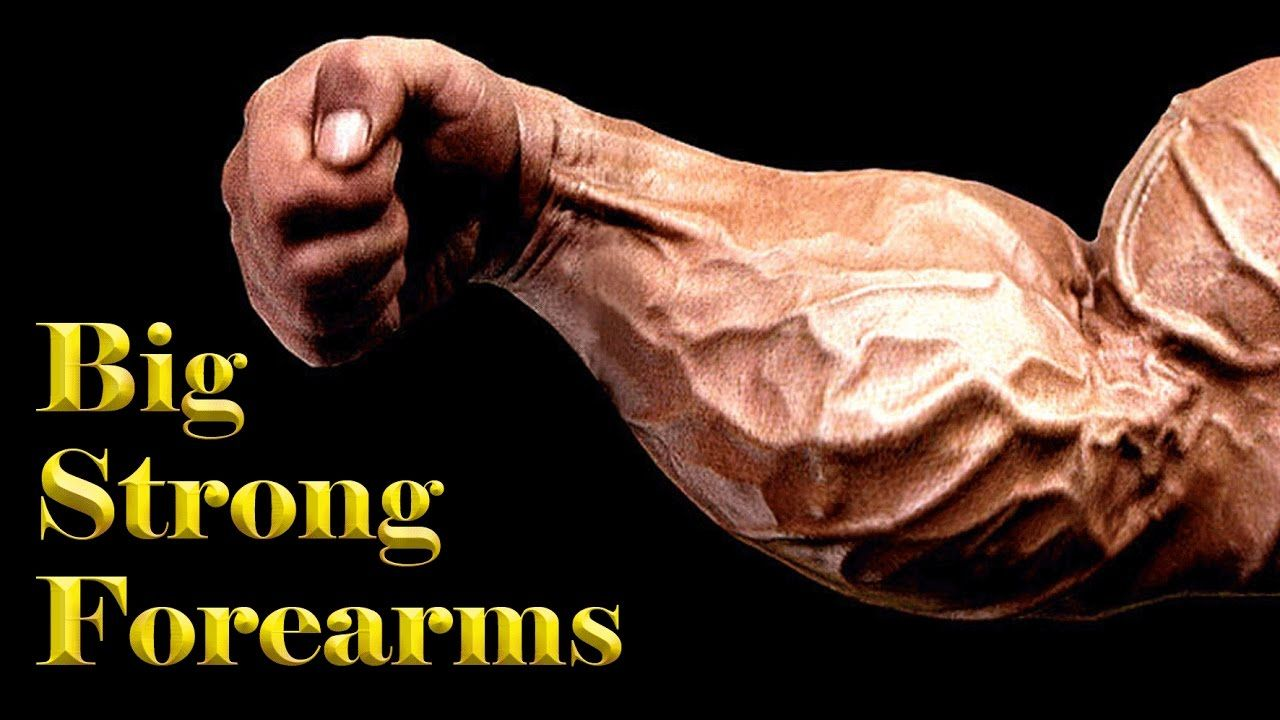 Forearms workout for men to strengthen arm at gym Warm up