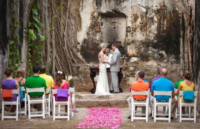 Amazing Wedding Setting In Campeche Southeastern Mexico At One Of The Haciendas Luxury Collection S Properties