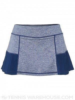 Head Women's Fall Pleated Marled Skirt