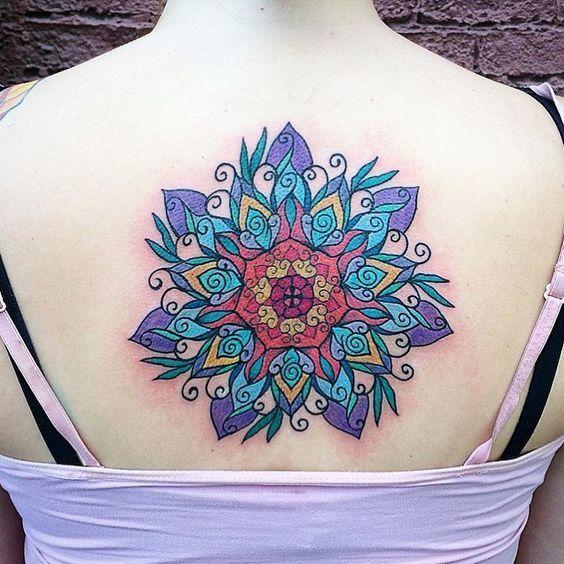 Tatuajes Mandalas A Color Tatuajes Mandalas Tatuajes Mandalas
