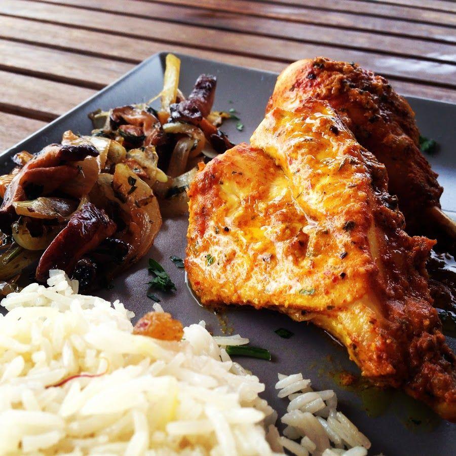Pollo tandoori con arroz | Recetas, Recetas para cocinar y Receta para