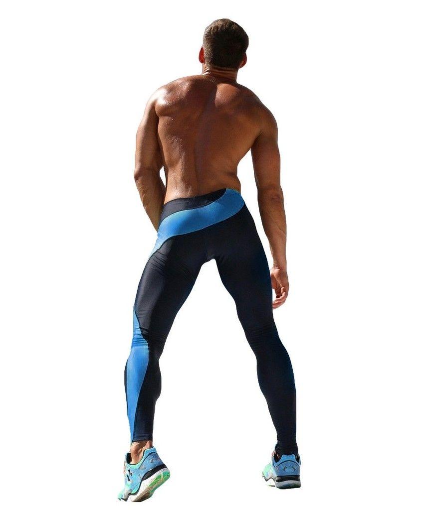 Calça Legging Masculina Camuflada Térmica Compressão Base Layer Mens  Running Tights 93d982ff45b84
