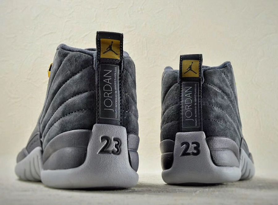 Air Jordan 12 Dark Grey 130690-005 Release Date | J Walker