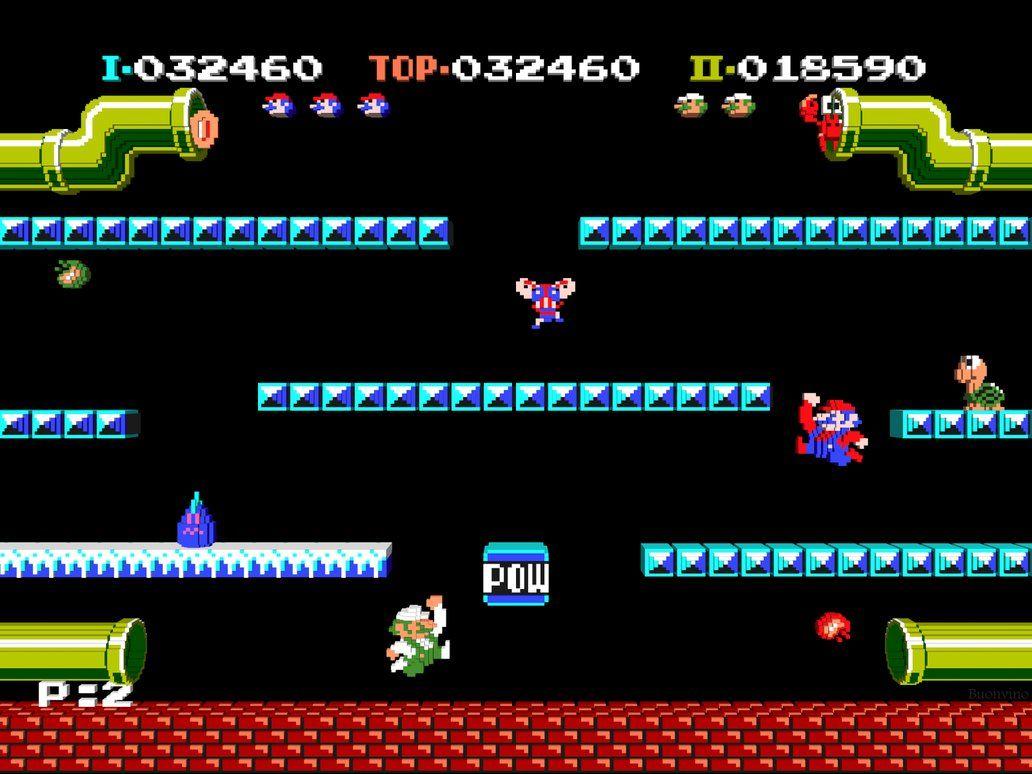 Mario Bros Super Mario Bros Nintendo Mario Bros Mario Bros
