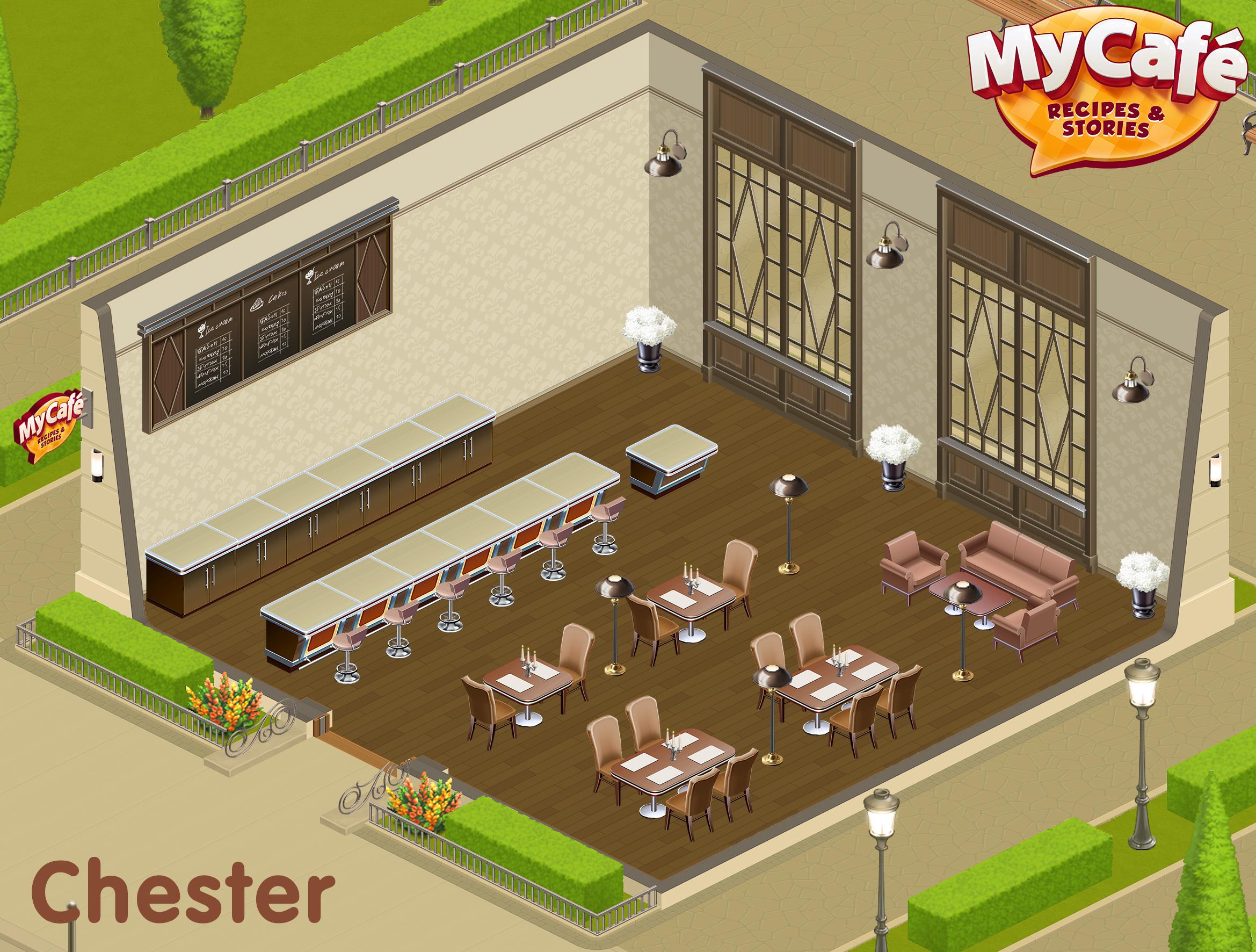 Chester English Style My Cafe Game Mycafe Mycafegame Cafe