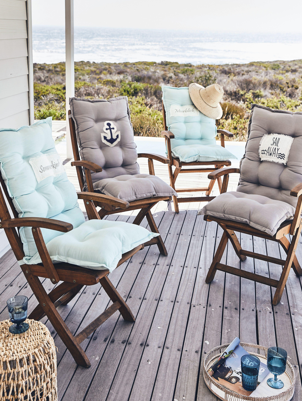 Gartenstuhlauflage Stuhlauflagen Outdoor Mobel Stuhle