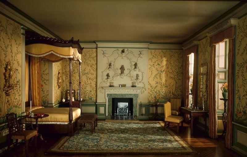 georgian bedrooms English Bedroom of the Georgian Period 1760