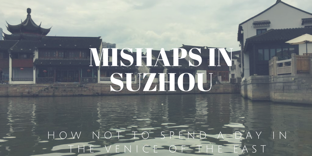 Suzhou is called the Venice of the East, and for good reason! It is a lovely place to visit. Just dont end up like we did with a big mishap in Suzhou!
