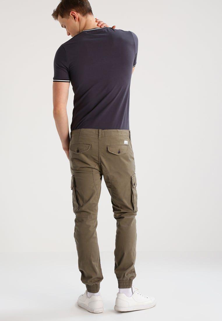 65affff45905f Jack   Jones JJIPAUL - Cargo trousers - walnut - Zalando.co.uk