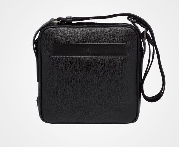 Prada Man - Messenger bag - Black - 2VH012_2EYT_F0002_V_OOO