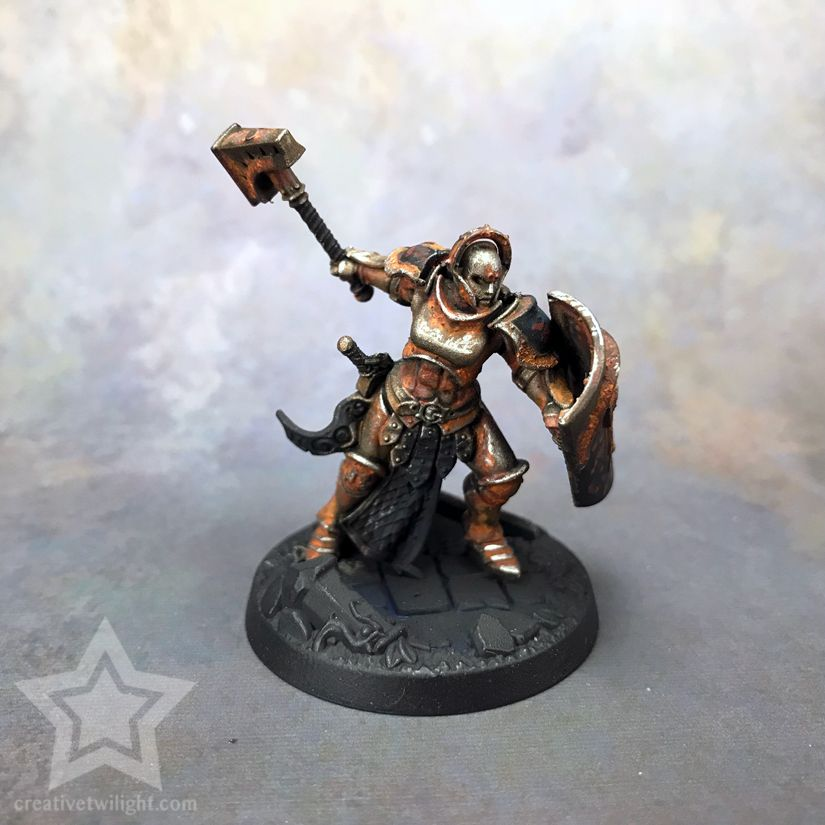 How To Paint A Realistic Rust Effect For Miniatures Tutorial Miniatures Tutorials Miniatures Bee Artwork