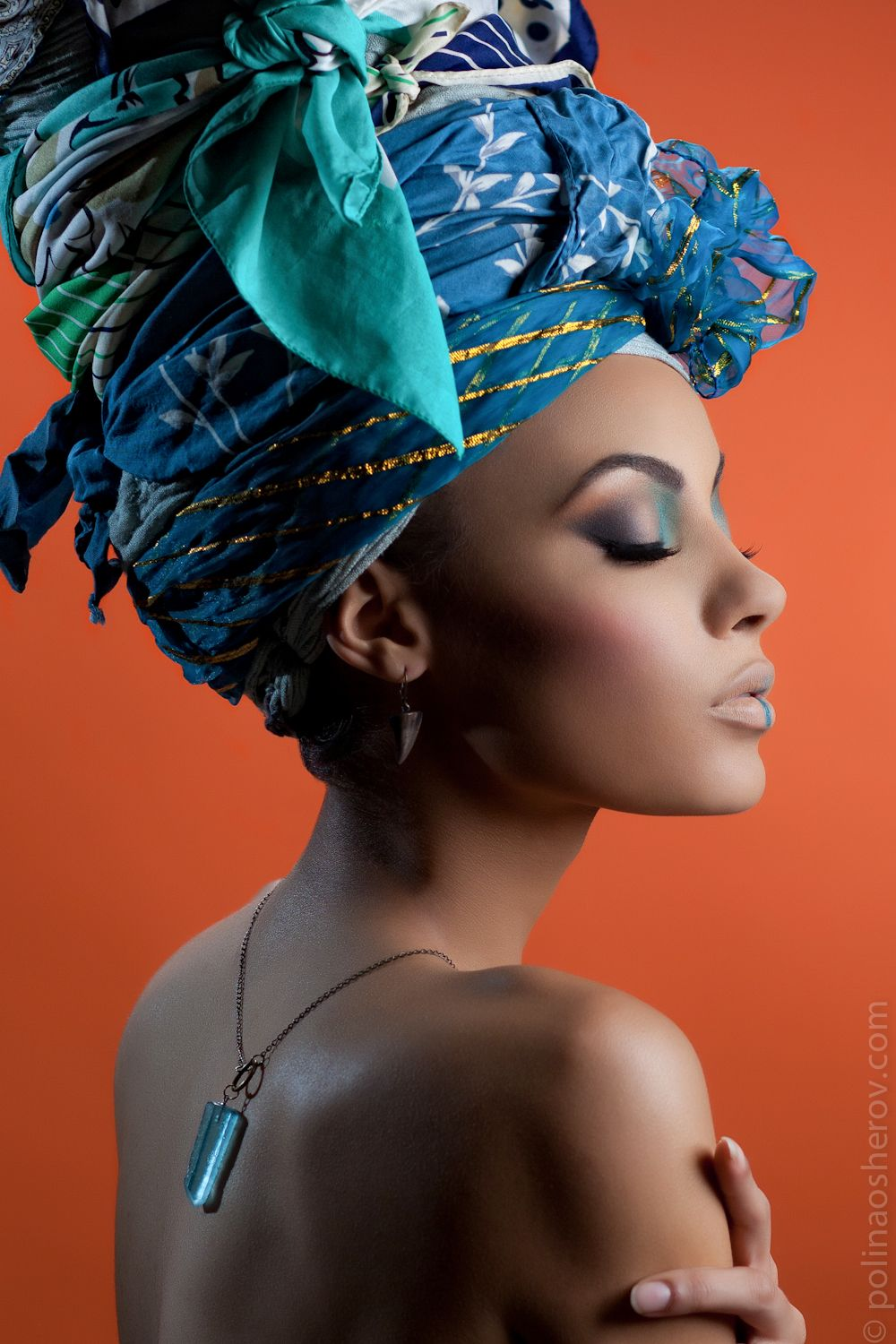 makeup mua Kathy Moberly Head wraps tutorials and