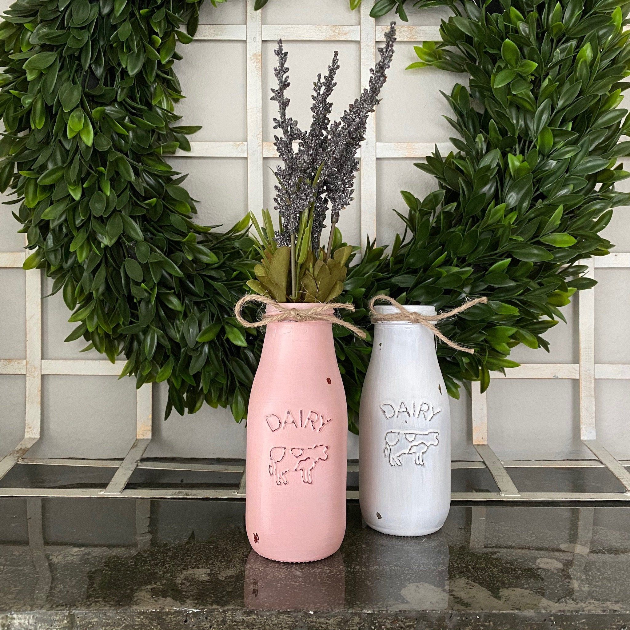 Painted Milk Can SHAB2FAB Pinterest Porch, Front