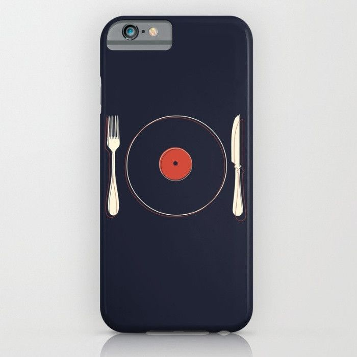 Vinyl Food for iPhone 6 Case