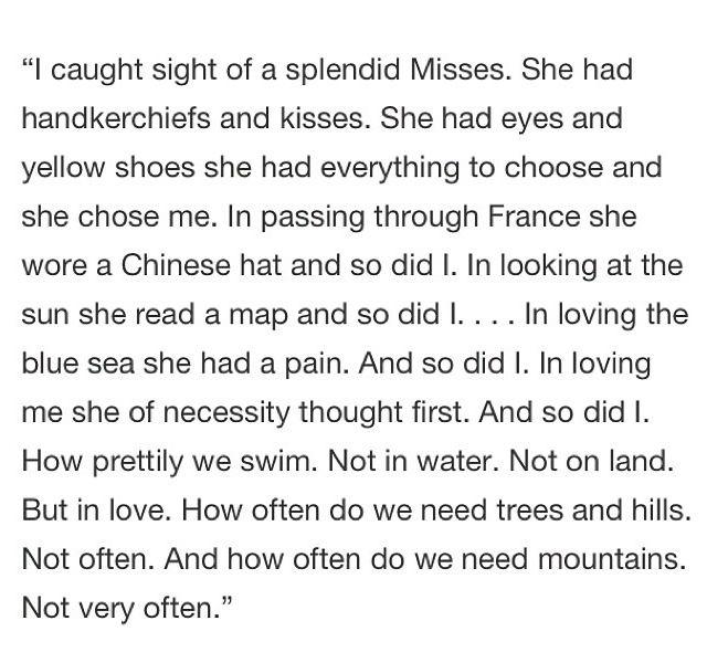Gertrude Stein prose Pinterest Poem quotes and Poem - resume by dorothy parker