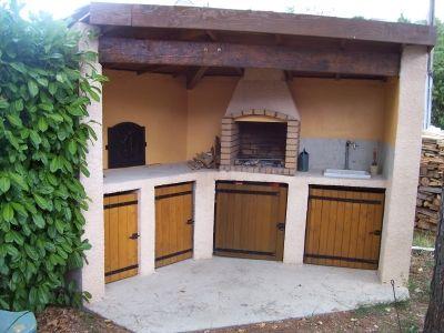 Barbecue plancha - avant carrelage - Vous avez construit votre - beton cellulaire exterieur barbecue