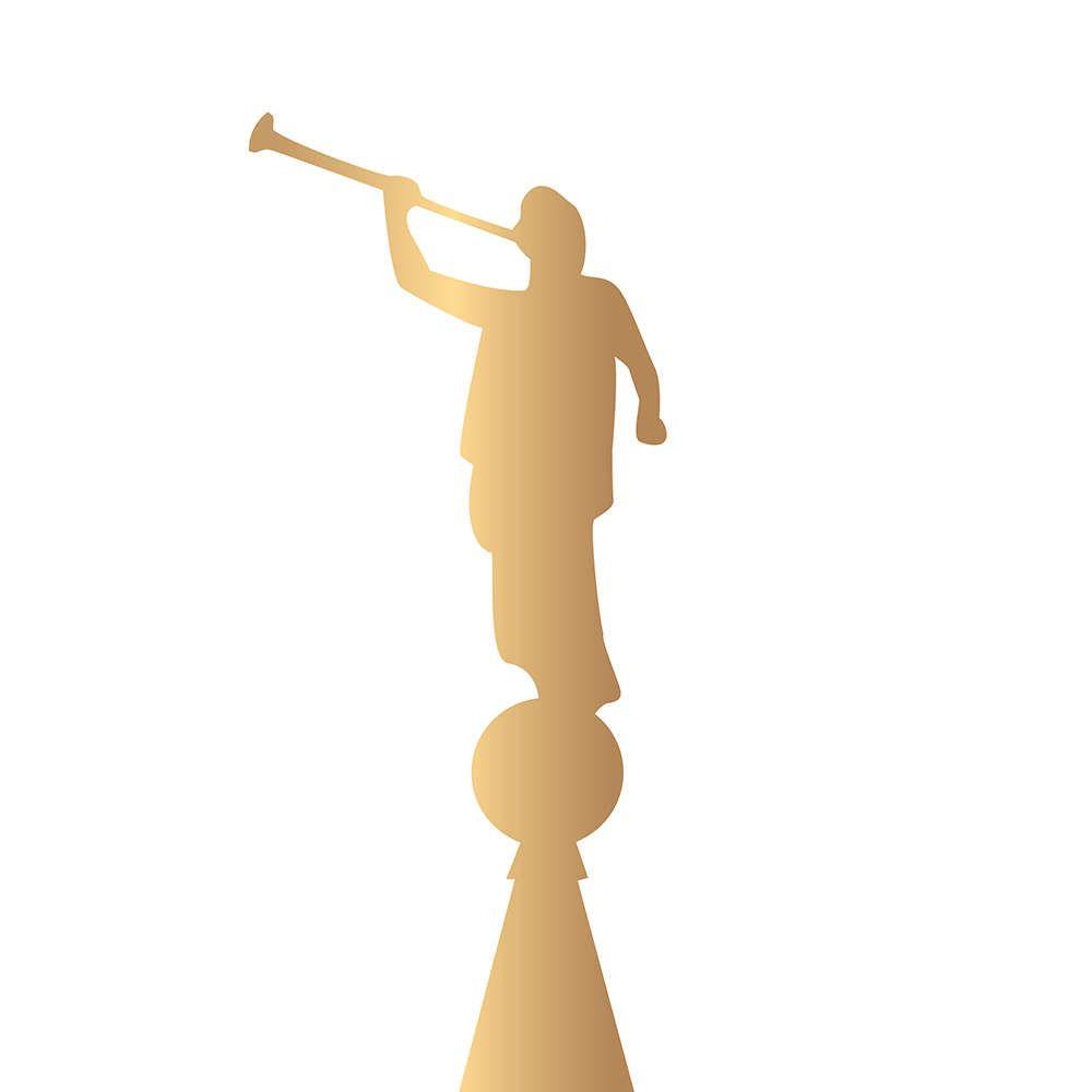 image result for angel moroni silhouette personal progress rh pinterest ie Angel Moroni Logo Angel Moroni Outline