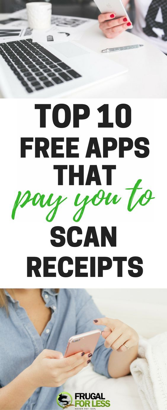 Top 10 Free Apps That Pay You Money For Scanning Grocery Receipts - make receipts free