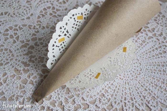 Photo of Bricolaje: conos de papel para arroz o los pétalos de tu boda. – ▷ Blog de bodas …