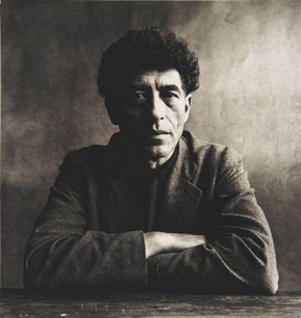 Alberto Giacometti (1901-1966), Paris 1950 by Irving Penn