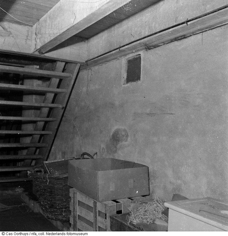 Opsluiting in de kelder