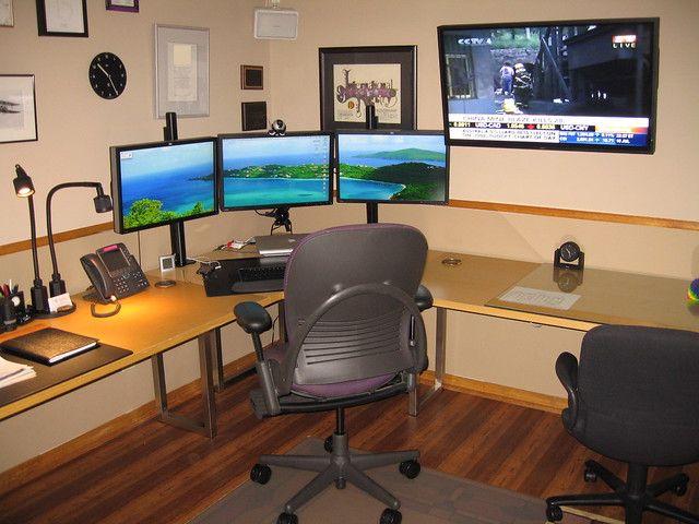 Basement Office- Computer Station