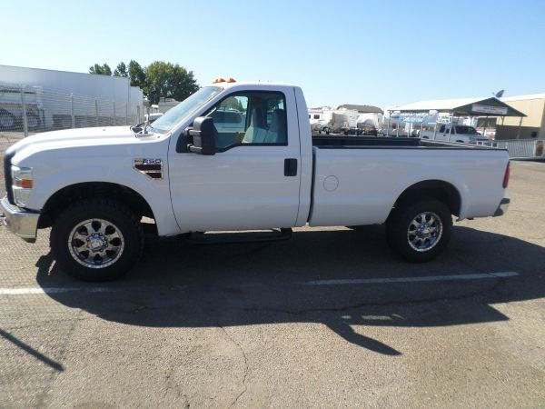 2008 Ford F 250 Diesel Super Duty Xl Regular Cab F250 Ford