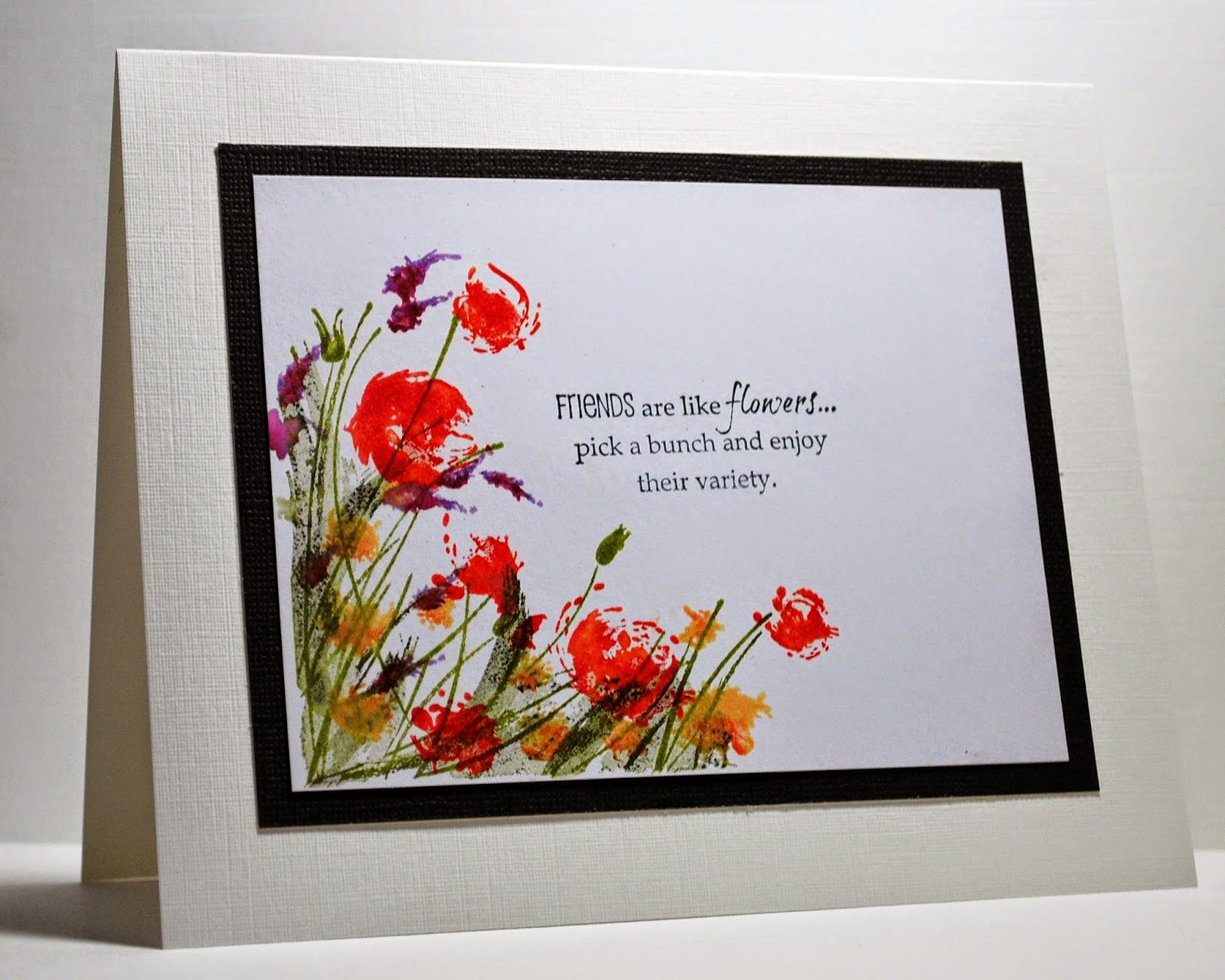 Eileen's Crafty Zone: Rubbernecker Stamps - 'Flowers in the Breeze' Stamp Set
