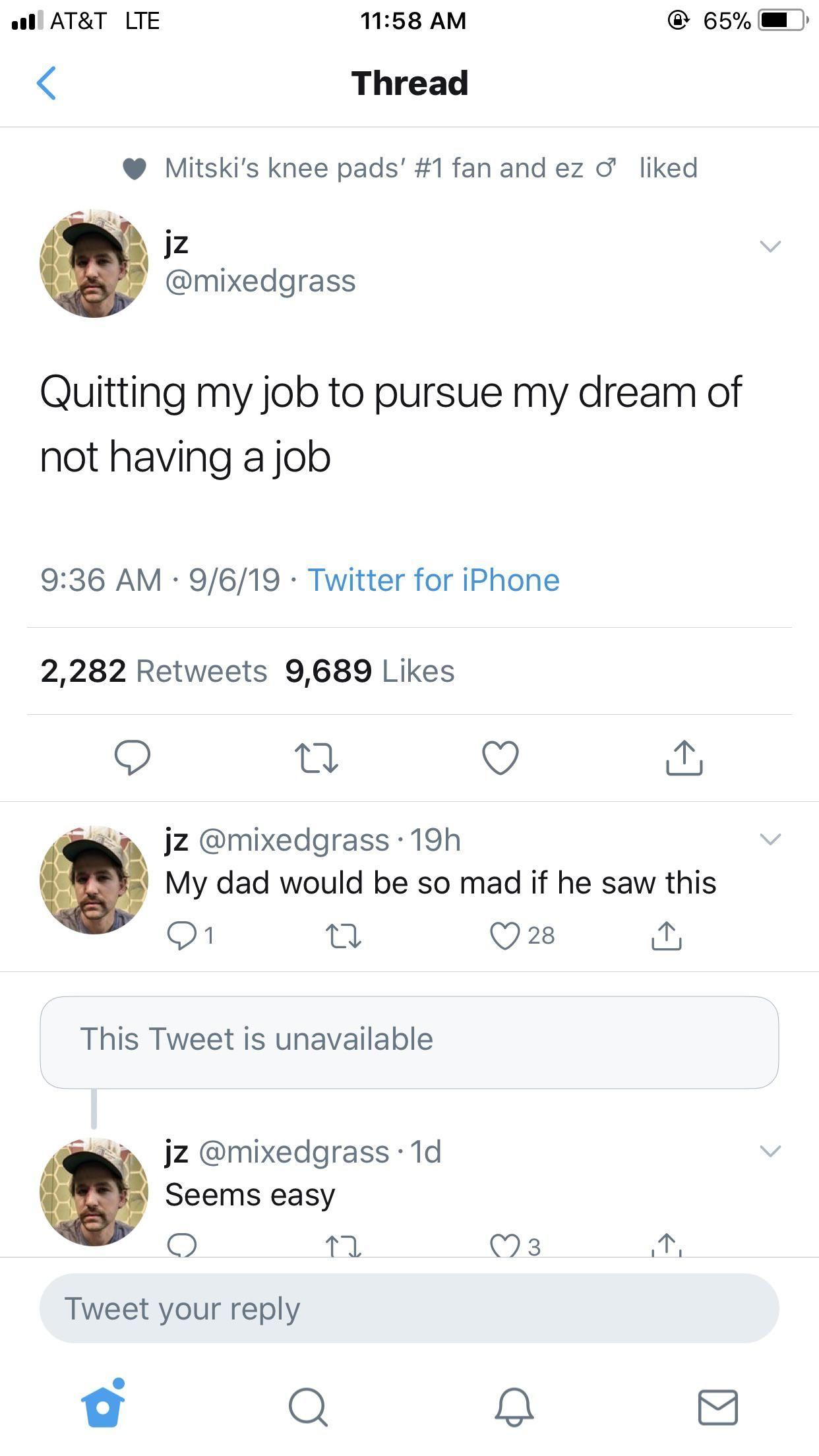 Quit My Job Meme