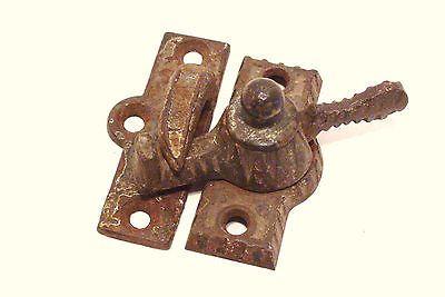 Antique Eastlake Widow Sash Lock Levers