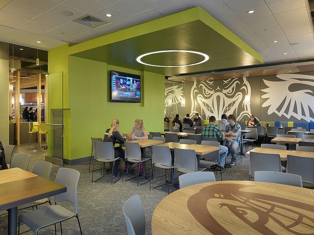 Servery Orientation After Hall Design Cafe Design Interior