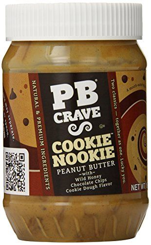PB Crave Peanut Butter, Cookie Nookie Premium, 16-Ounce - http://bestchocolateshop.com/pb-crave-peanut-butter-cookie-nookie-premium-16-ounce/