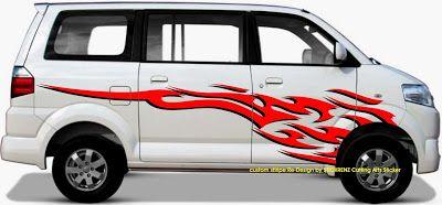 Suzuki Apv Custom Stripe Sticker Concept