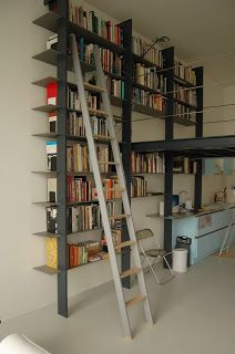 laddertjes.net: Aluminium boekenkast-ladder | Bookshelves ...