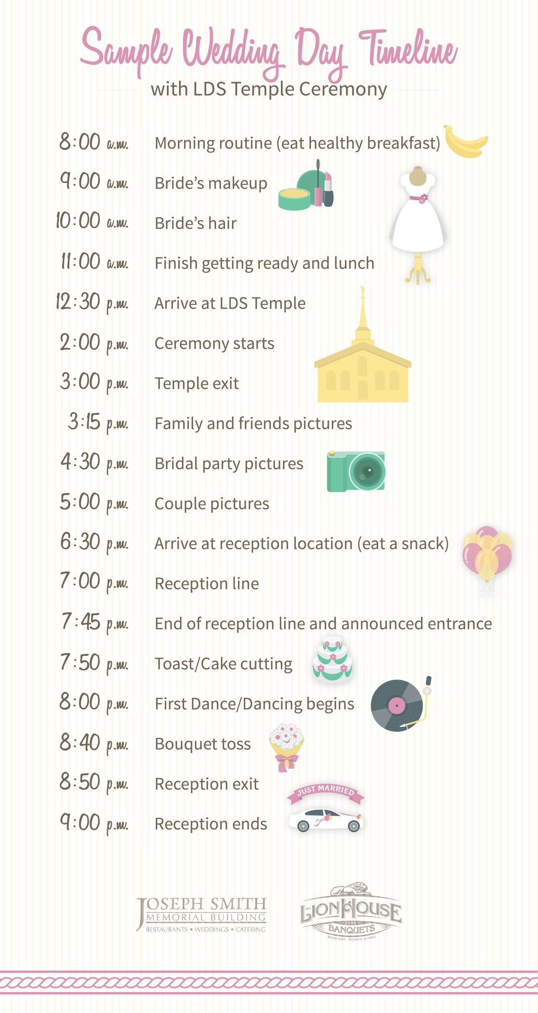 How To Build Your Wedding Day Timeline Wedding Ideas Pinterest