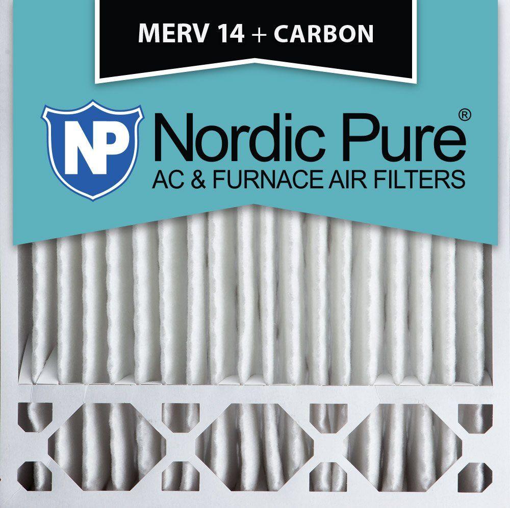 Nordic Pure 20x20x5 (43/8 Actual Depth) MERV 14 Plus
