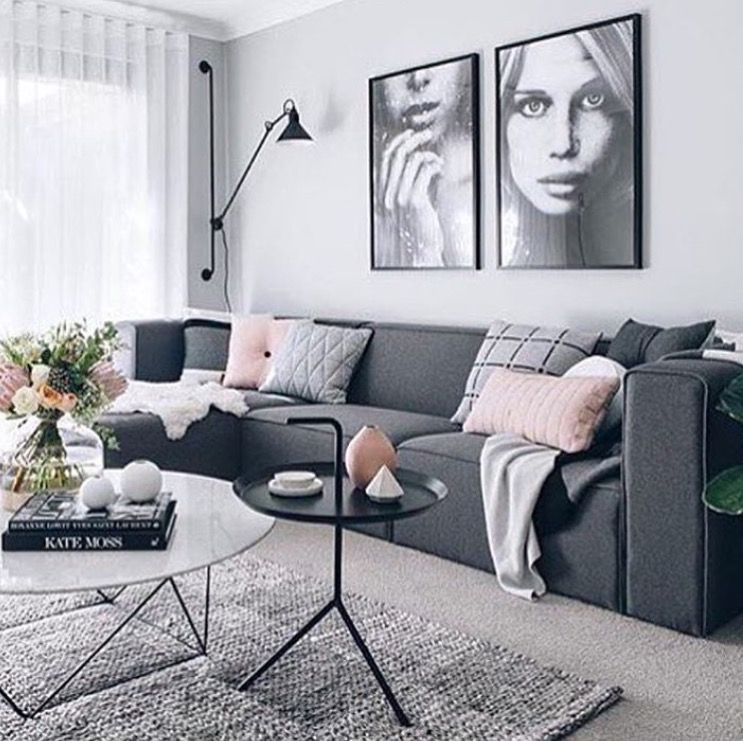 wall colour light grey decorating living room living room decor rh pinterest com