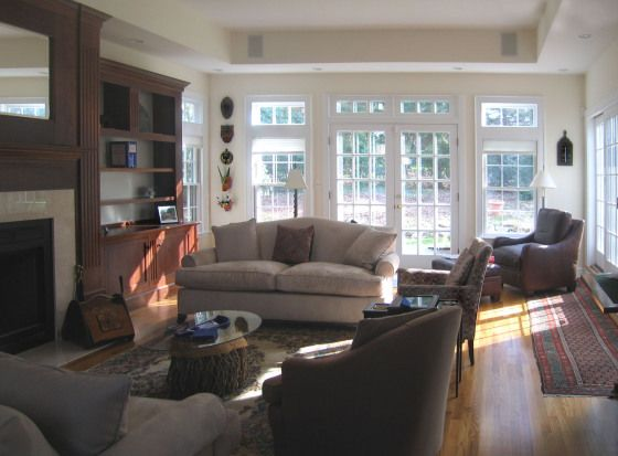 Explore Family Room Addition Large Rooms And More