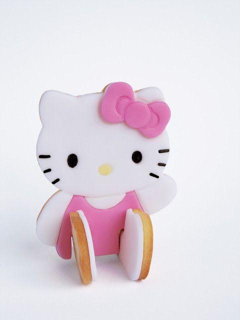 Cookie da Hello Kitty sentada! Super original!