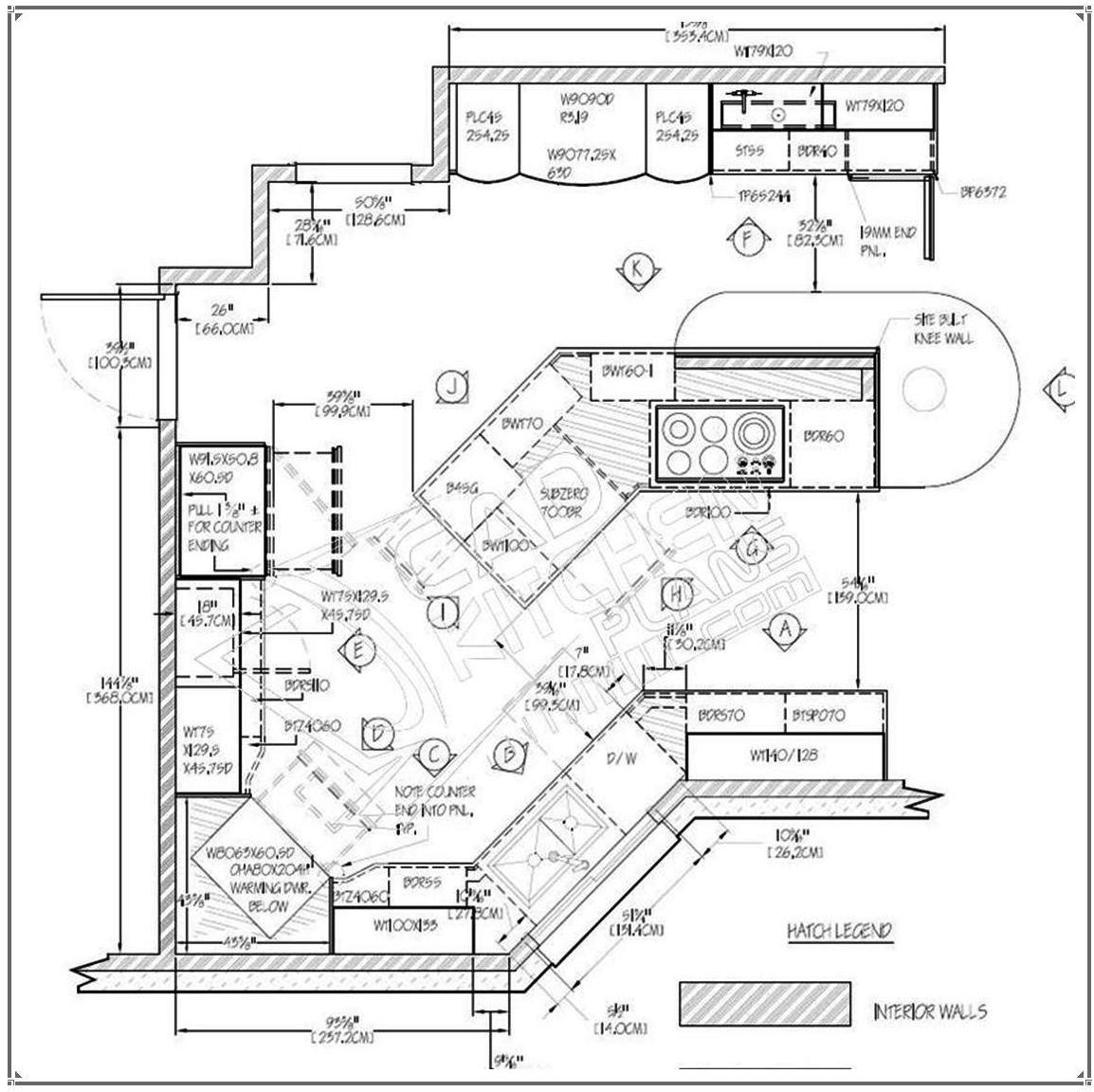 CadKitchenPlans.com | Portfolio-2D AutoCad | Projects to Try ...