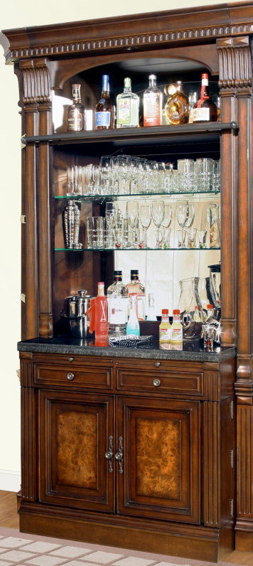 Corsica Bar & Hutch | Parker House | Home Gallery Stores