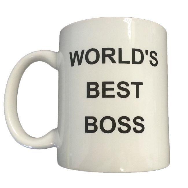 Michael Scott's 'World's Best Boss' Coffee Mug #bosscoffee