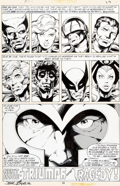 X-Men #112, page 29 by John Byrne & Terry Terry Austin, script by Chris Claremont