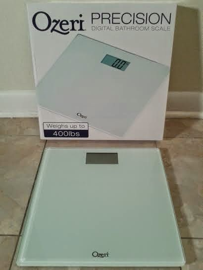 A Little Bit Of Something: Precision Digital Bathroom Scale From Ozeri