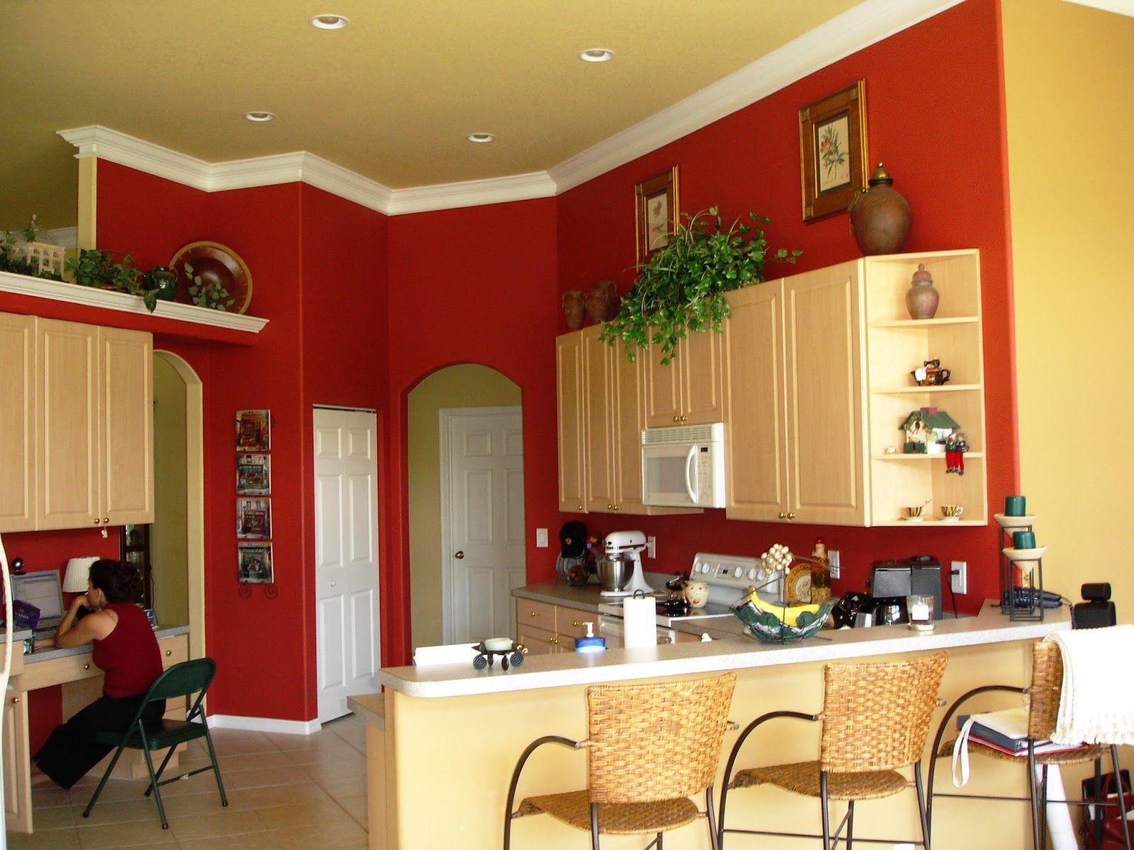 Paint Colors Suggestions Rote Wand Kuche Farben Fur Kuchenwande Wohnkuche