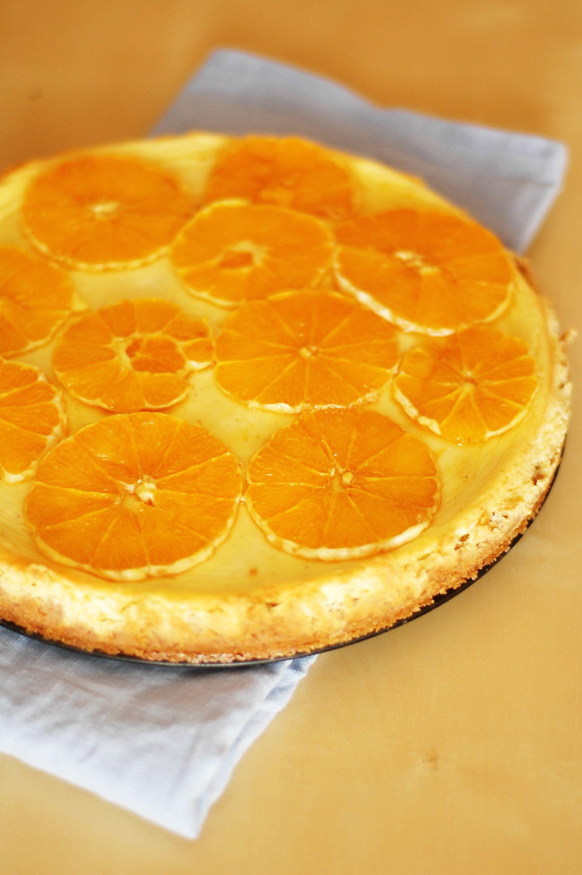 orange cheesecake | Recipes | Pinterest