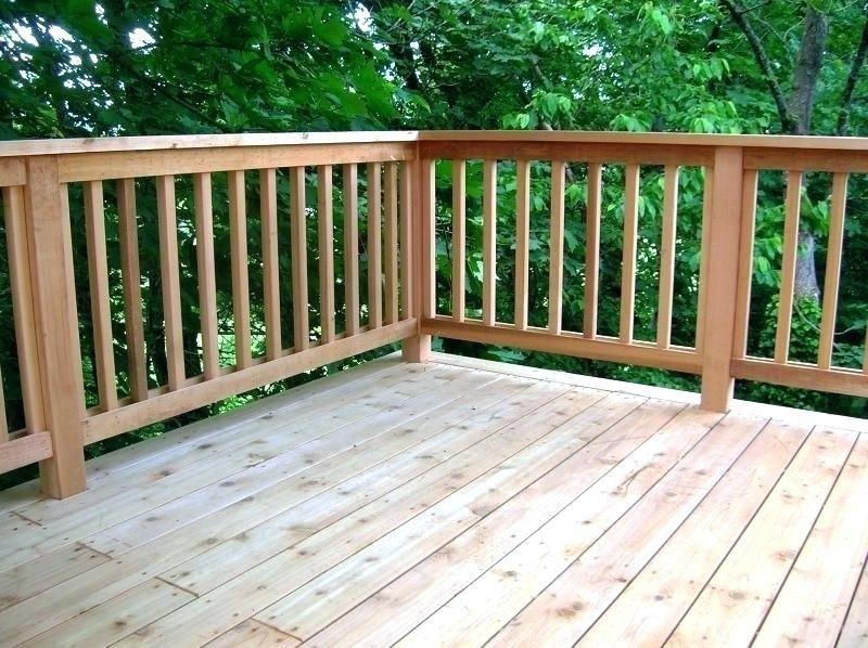 cedar railing ideas on Design For Vertical Baluster Wood Outdoor Railing Google Search Railings Outdoor Cedar Deck Deck Railings