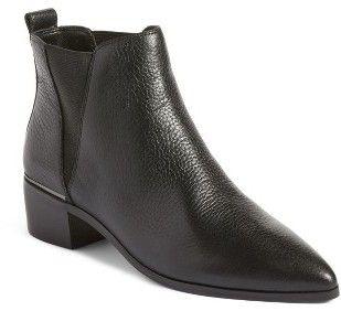 4f22cbfcf1a Women s Treasure  amp  Bond Easton Chelsea Bootie Black Block Heel Boots