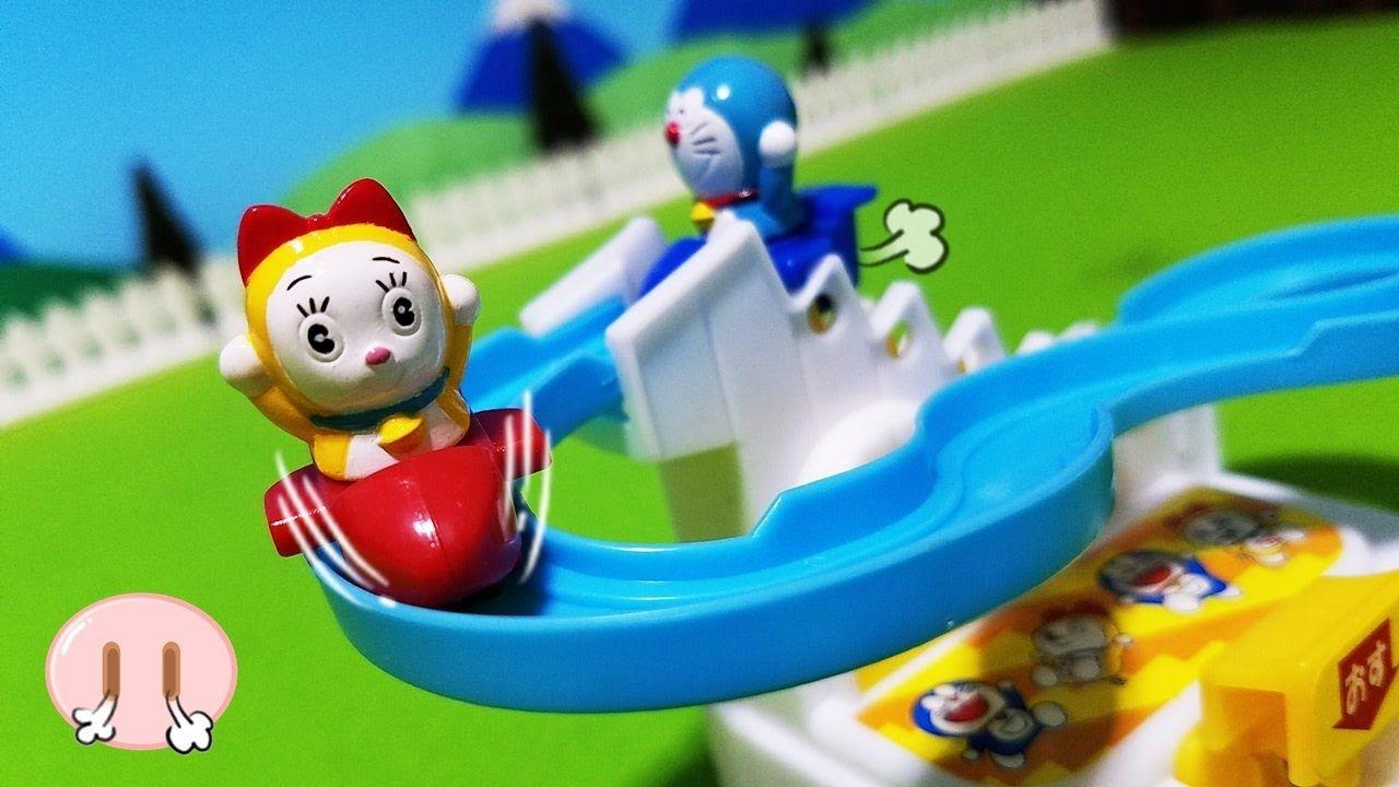 Miniature Toys ドラえもん おもちゃアニメ おすべり スイスイ 滑り台