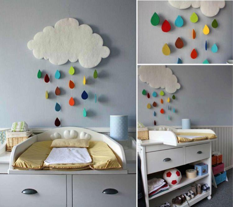 24 Wanddeko babyzimmer selber machen
